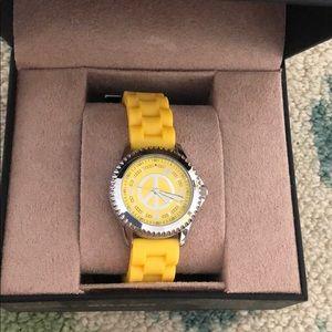 Jewelry - Luck Brand Yellow Watch